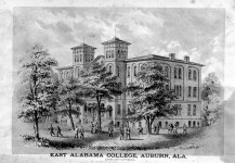 Did you know that Auburn University [old photographs] was almost located in Greensboro, Alabama?