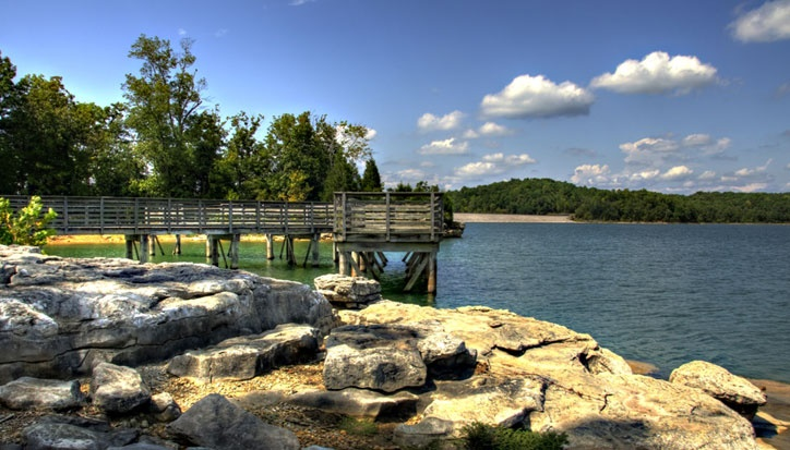 Franklin County lake