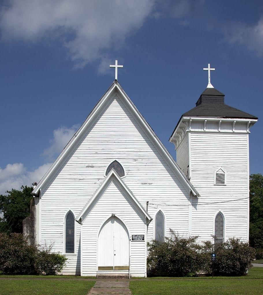 St. John's episcopal photograph by Carolyn Highsmith 2010