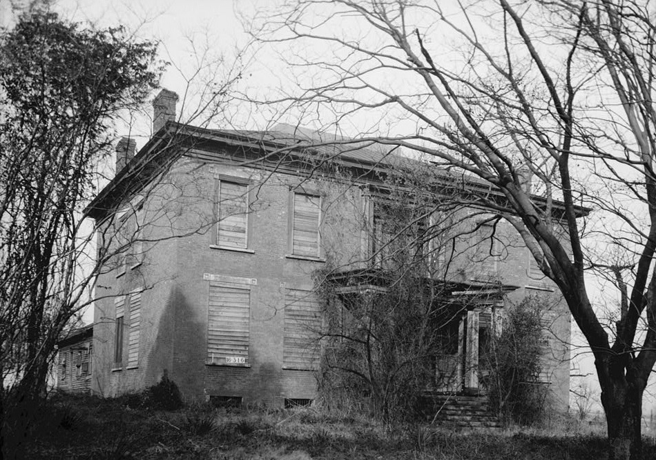 William Winston home ca, 1970 before restoration