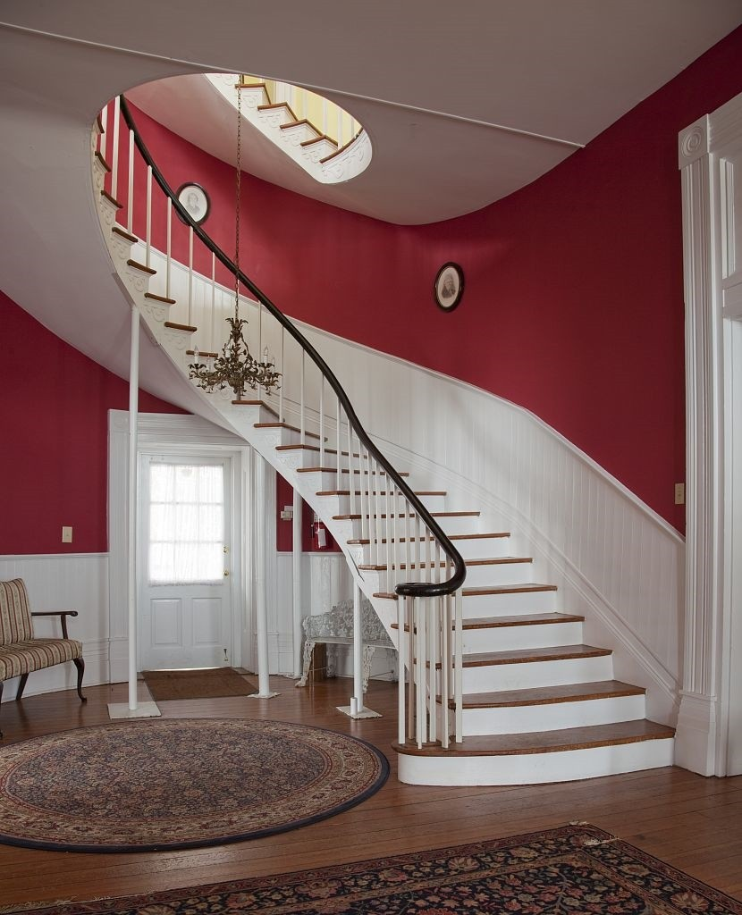 William Winston home staircase 2010 by Photographer Carolyn Highsmith