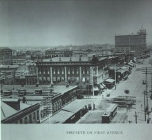 Details of a shootout on 1st Avenue in Birmingham, Alabama on May 21 one hundred and thirty years ago