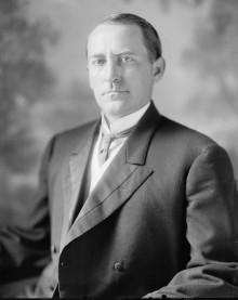 Biography: William Brockman Bankhead born April 12, 1874 – greeted the King & Queen on 1st visit of monarch to United States