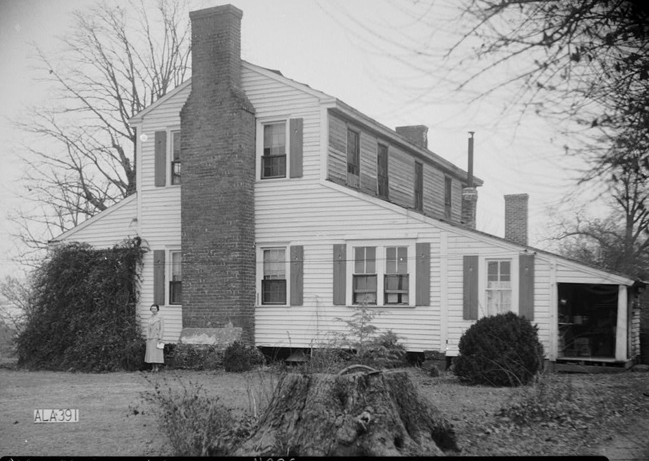 Bankhead, James Greer house Alex Bush, Photographer, March 4, 1936 SOUTH ELEVATION (SIDE) - James Greer Bankhead House, U.S. Route 278, Sulligent, Lamar County, AL