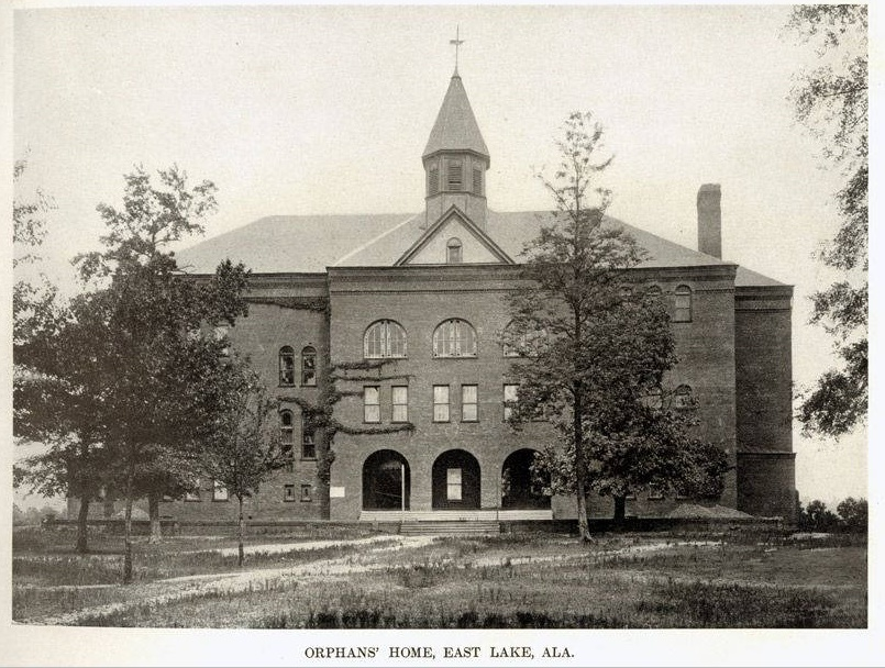 East Lake Atheneum when it was an Orphans home in 1900