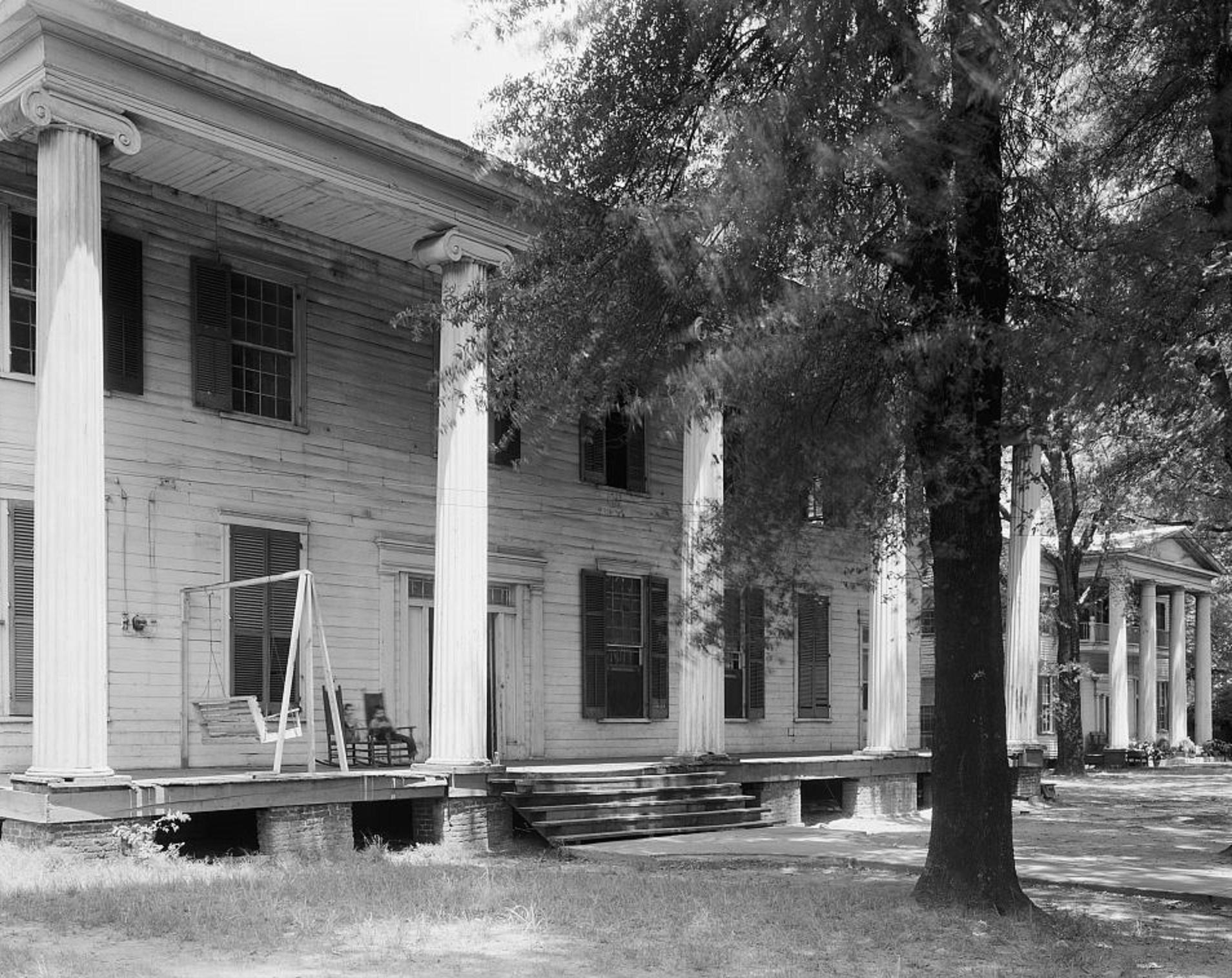 Eutaw Female Academy, also known as the Mesopotamia Female Seminary, Eutaw, Greene County, Alabama2 1939 by photographer Frances Benjamin Johnston
