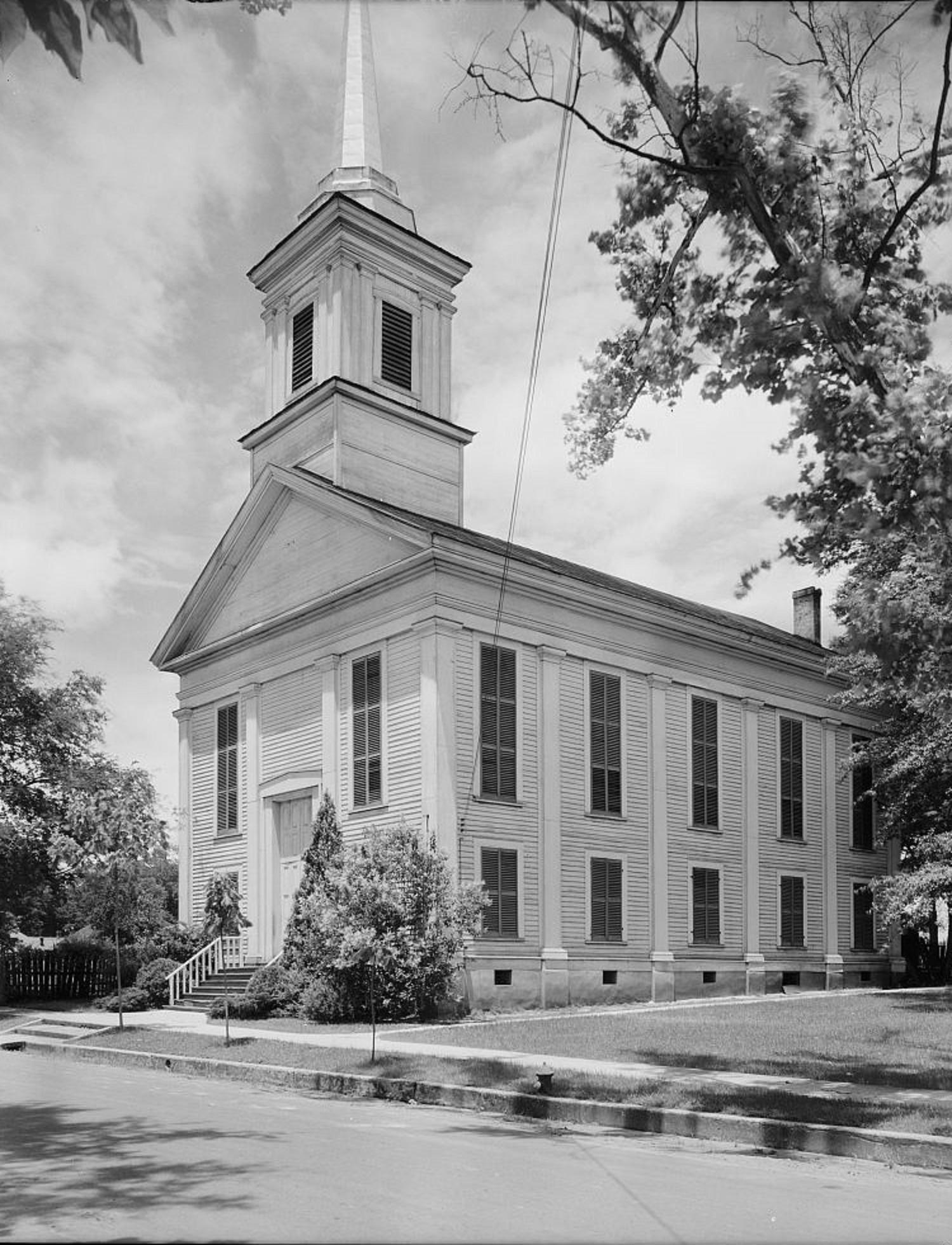First Presbyterian Church Eutaw 1939 by Photographer Frances Benjamin Johnston
