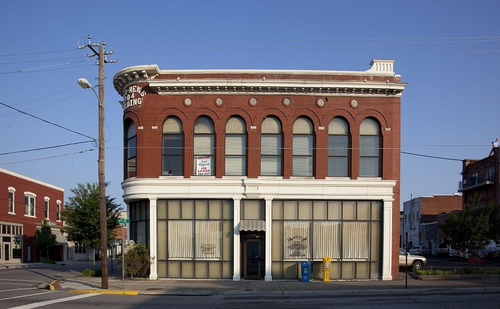Gadsden Times Building by Carolyn Highsmith 2010