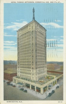 PATRON + The Thomas Jefferson Hotel in Birmingham may have the last rooftop zeppelin mooring mast in the world