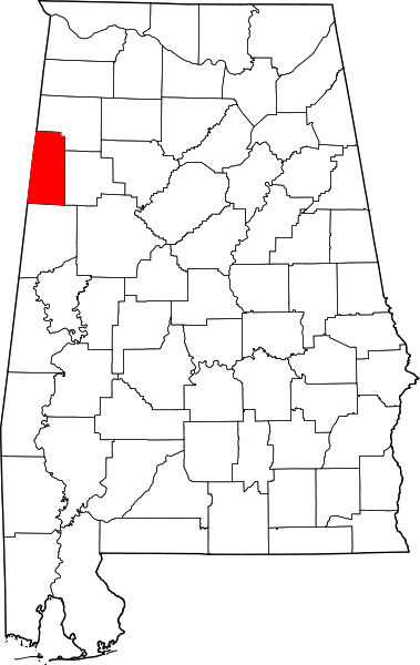 Lamar County, Alabama