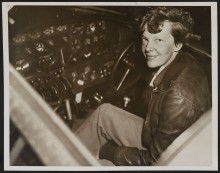 PATRON + On July 2, 1937- Alabama News reported this information on Amelia Earhart – the day before she disappeared
