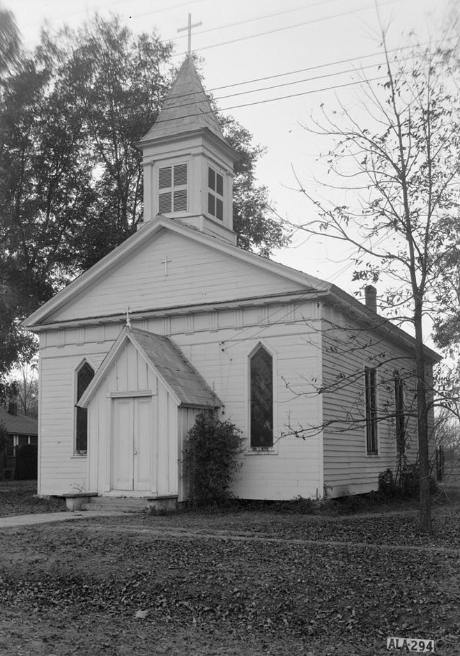 St. James Episcopal Church, Livingston, Alabama