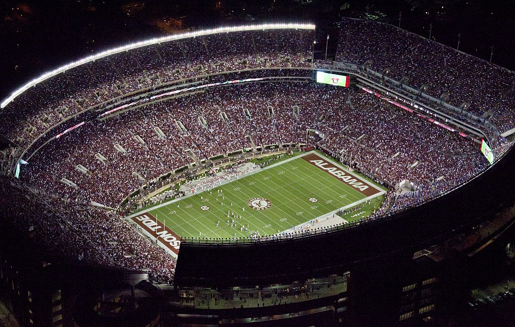 Do you remember when Bryant-Denny Stadium looked like this? (Includes -some names of graduates ...