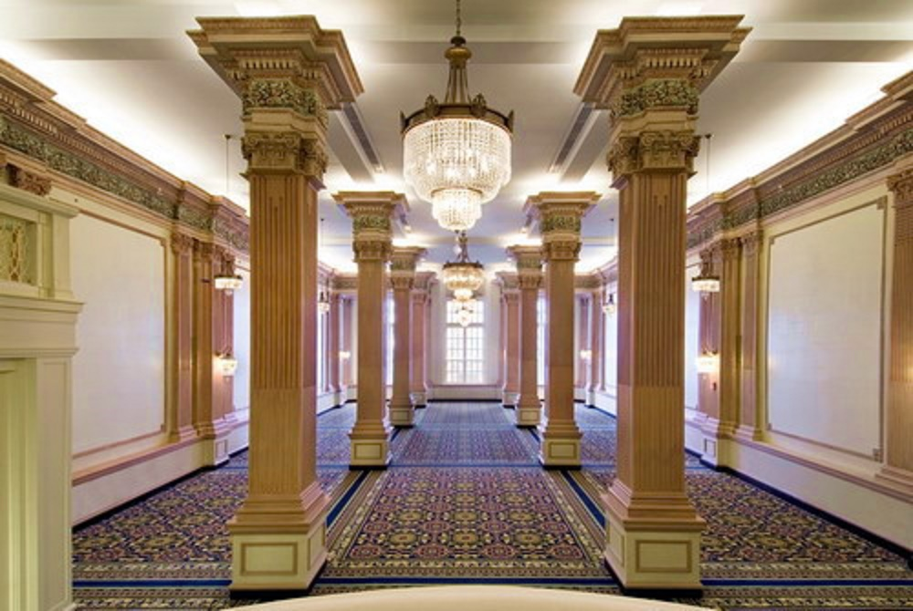 The Magnificent Crystal Ballroom