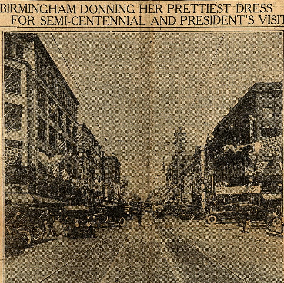50th Anniversary birmingham street