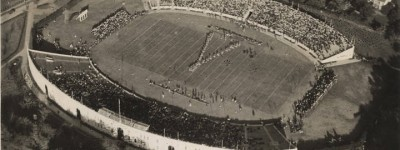 Do you remember when Bryant-Denny Stadium looked like this? (Includes -some names of graduates in 1914)