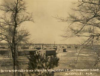 Aliceville Internment camp March 3, 1943