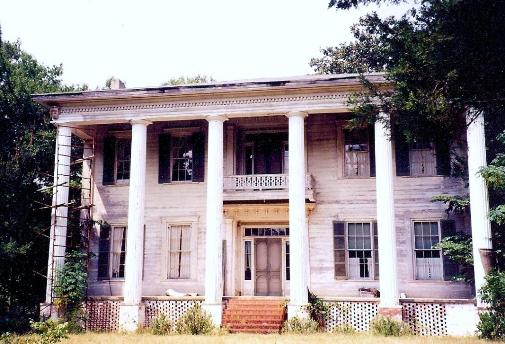 Belvoir, in 1997 prior to restoration