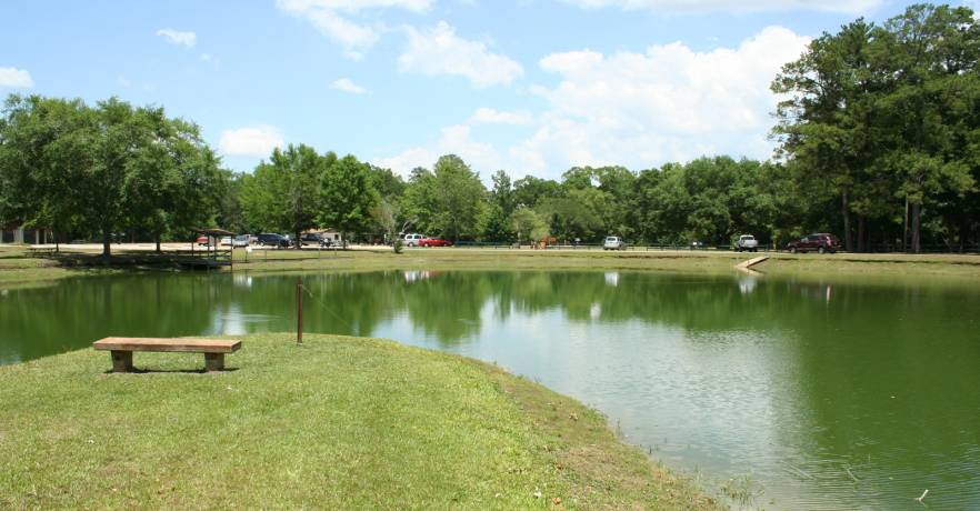 Legend of Blue Pond or Woodstock Spring in Calhoun County, Alabama