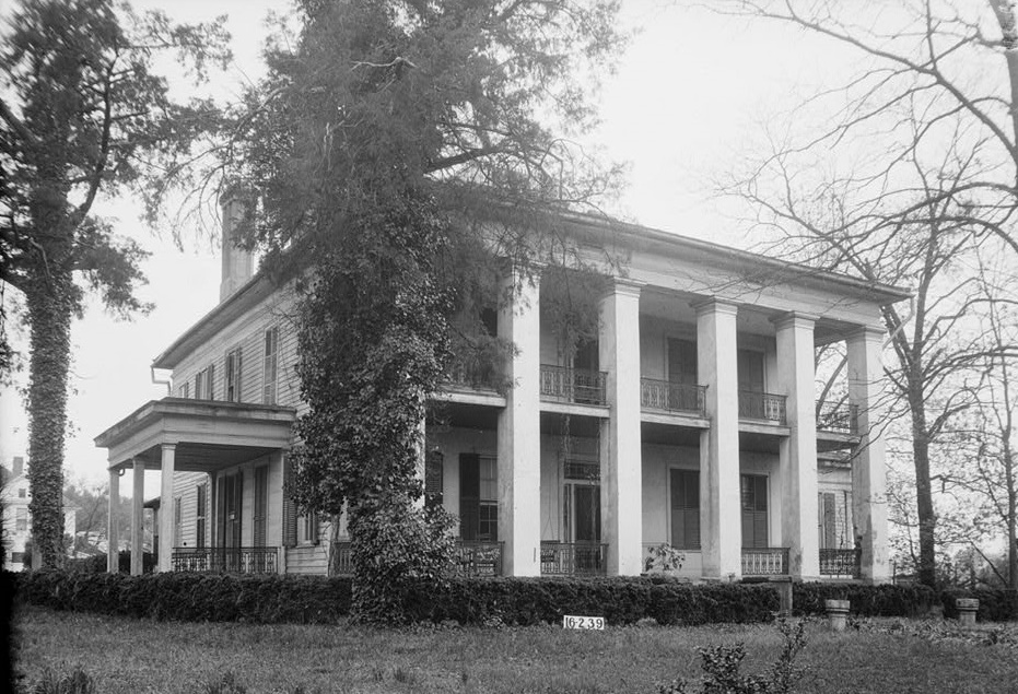 Bluff Hall, Marengo County – this beautiful and historic mansion has been preserved