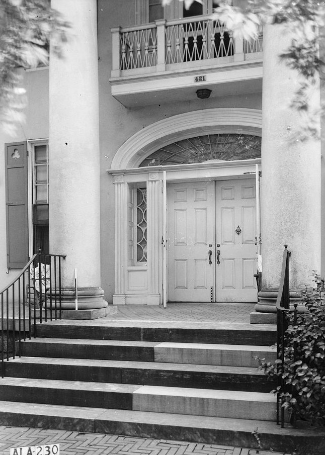 Dearing-Bagby house 1939 by photographer Frances Benjamin Johnston2 (Library of Congress)