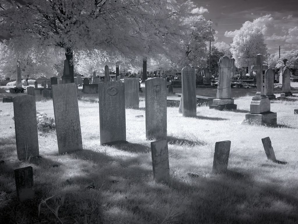 Greenwood Cemetery, original cemetery in Tuscaloosa, by Carol Highsmith, 2010