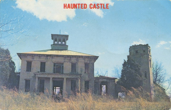 Haunted Rocky Castle, Lawrence County, Alabama (Alabama Department of Archives and History)
