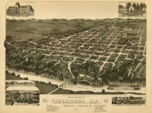 PATRON – List of Names of the Sons of Tuscaloosa County Alabama who served the City of Tuscaloosa prior to 1900