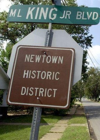 UPDATED WITH PODCAST Newtown was once set to be larger than Tuscaloosa, Alabama but failed