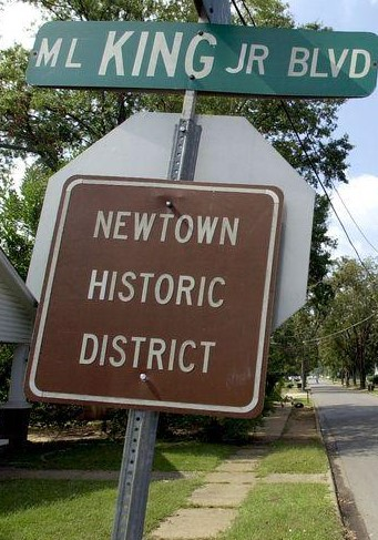 Newtown was once set to be larger than Tuscaloosa, Alabama but failed