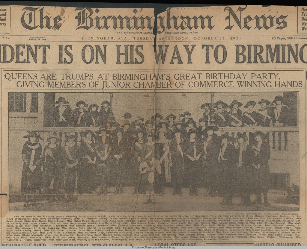 Queens of semi=centennial birmingham
