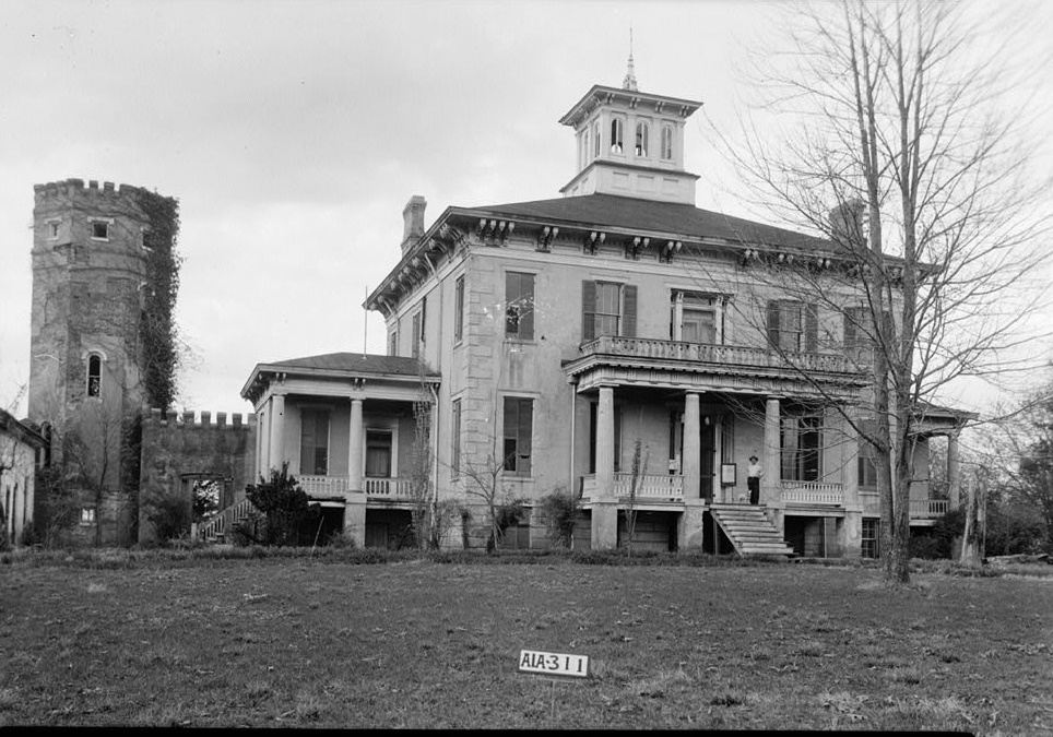 Rocky Hill Castle (Library of Congress)