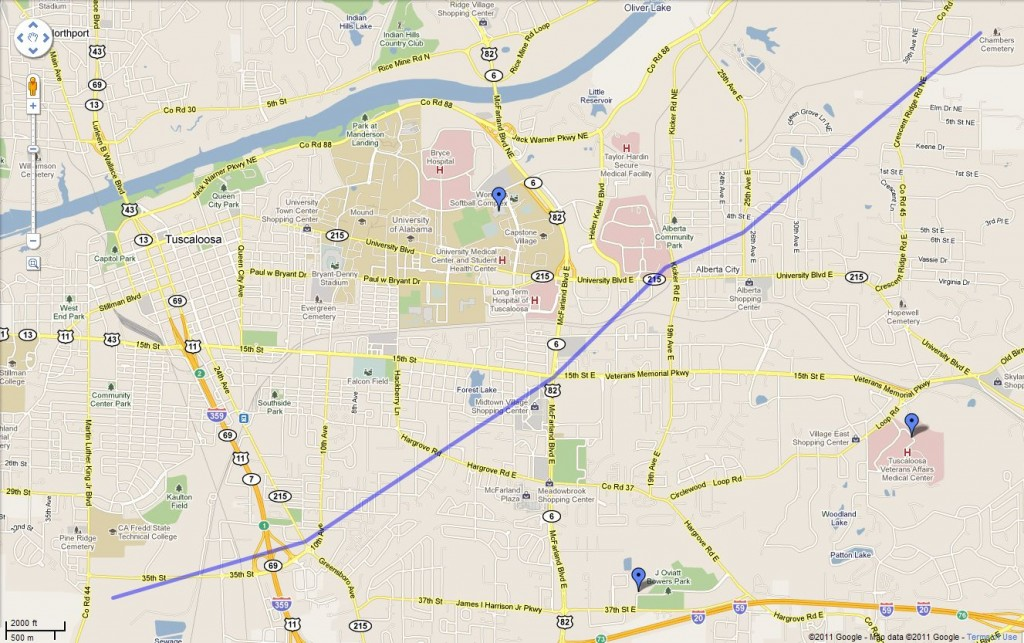 Tuscaloosa_Tornado_Path_Map
