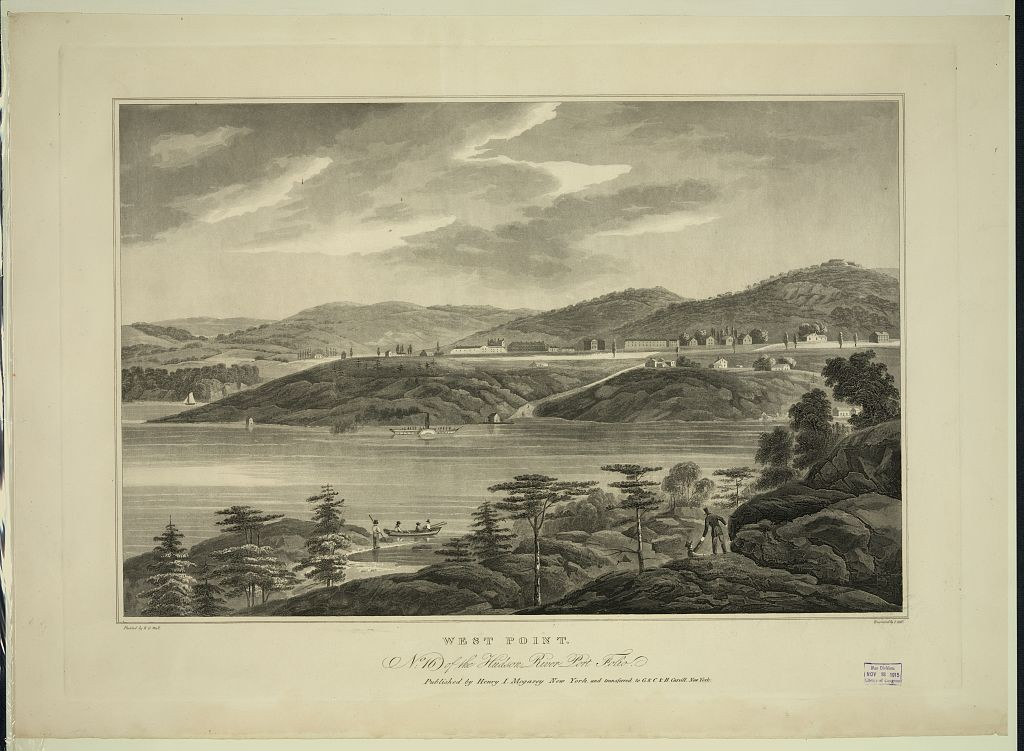 West Point 1821 (Library of Congress)