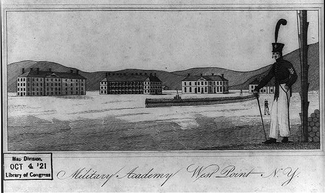 West point, early (library of congress)