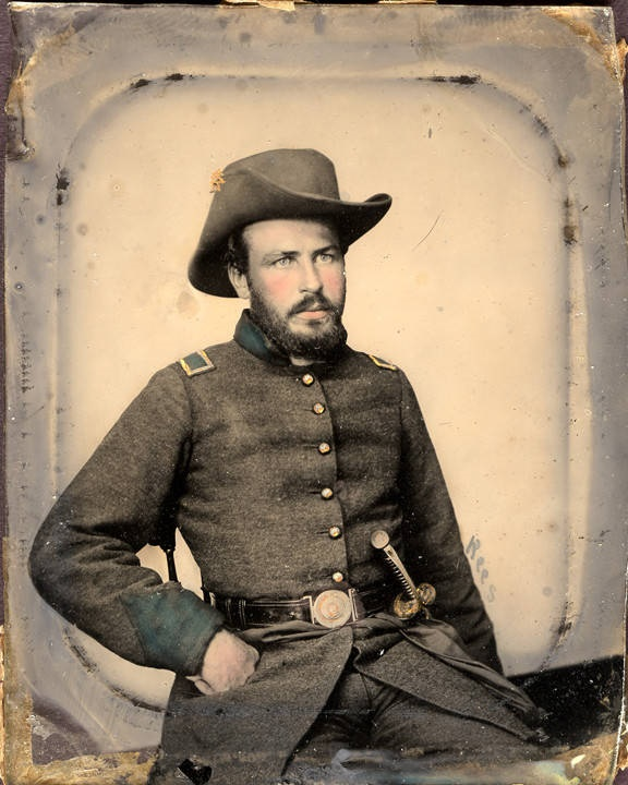 2nd Lieutenant Samuel Adams, Co. G, 9th Alabama Infantry, C.S.A Q627; Q745; Q4207
