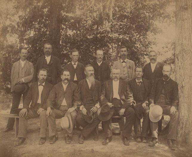 6th Alabama Infantry reunion at Jackson's Lake in Elmore County, Alabama – Q22013