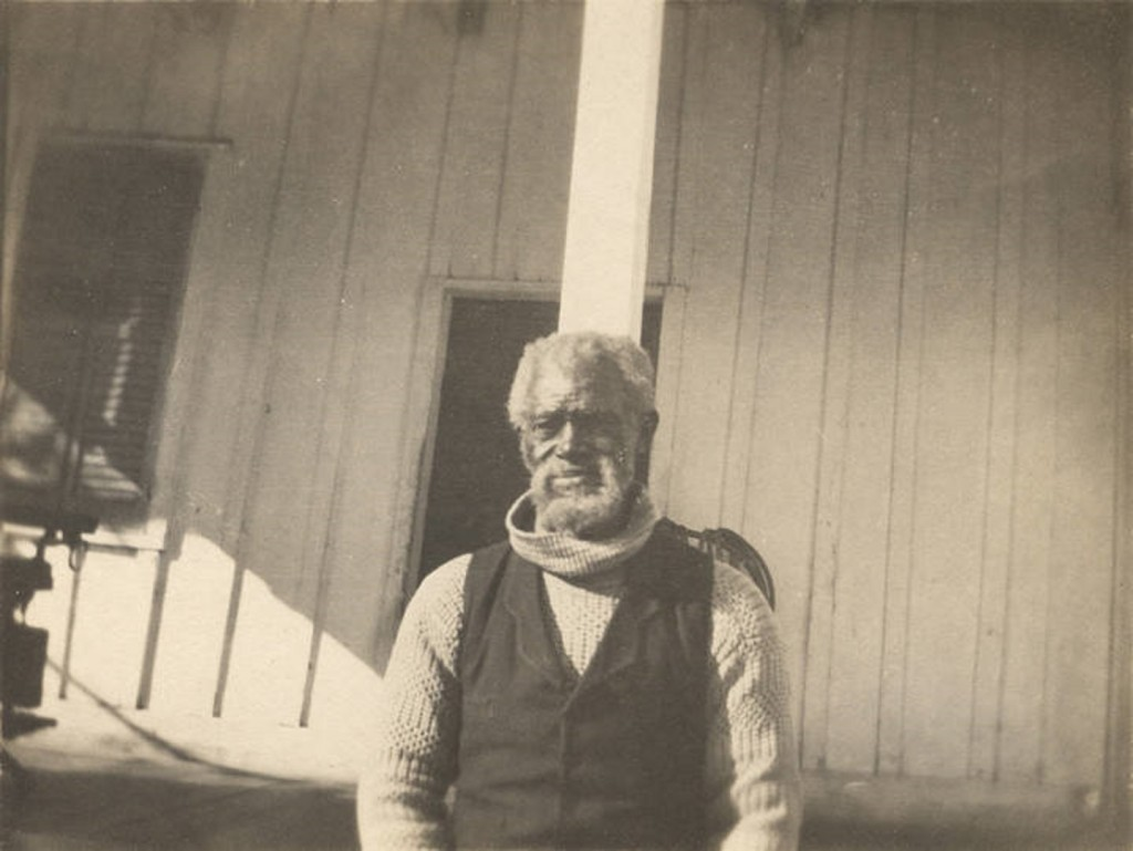 African American man in Fort Mitchell, Russell County, Alabama. ca. 1900 Q5584