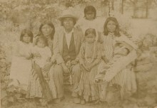 Some historic photographs & information of early 20th century Native Americans in Alabama