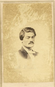 Photograph of Gen. Basil Duke ca. 1860 who was the brother-in-law of Gen. John Hunt Morgan & others