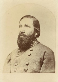 Portraits of four brigadier-generals from the Civil War with some details of their service