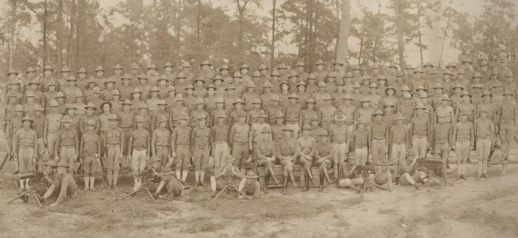 Camp Sheridan - 26th Machine Gun Battalion at Camp Sheridan, Alabama (ADAH)