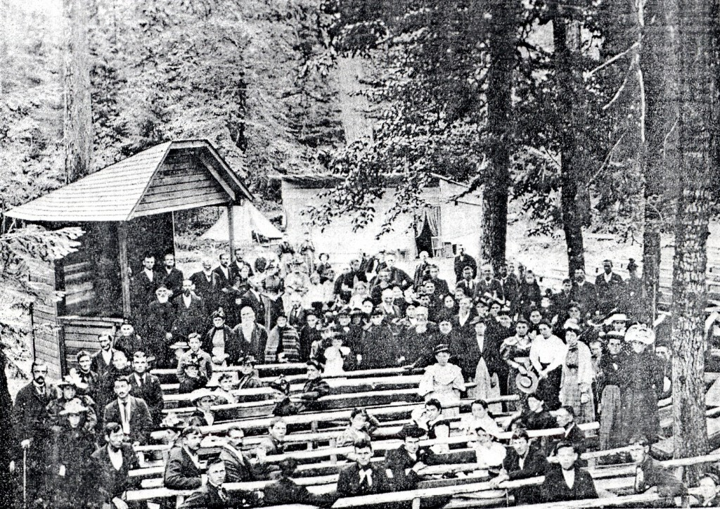 Camp meetings by Hon. Powell