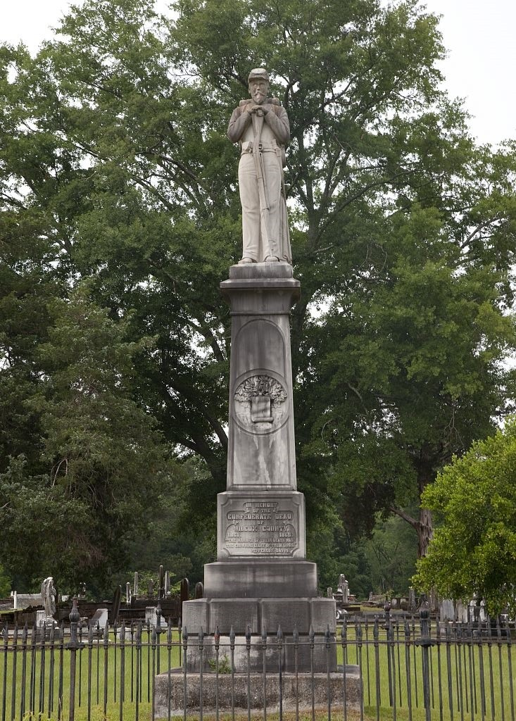 Confederate statue in Camden Cemetery, by Carol Highsmith