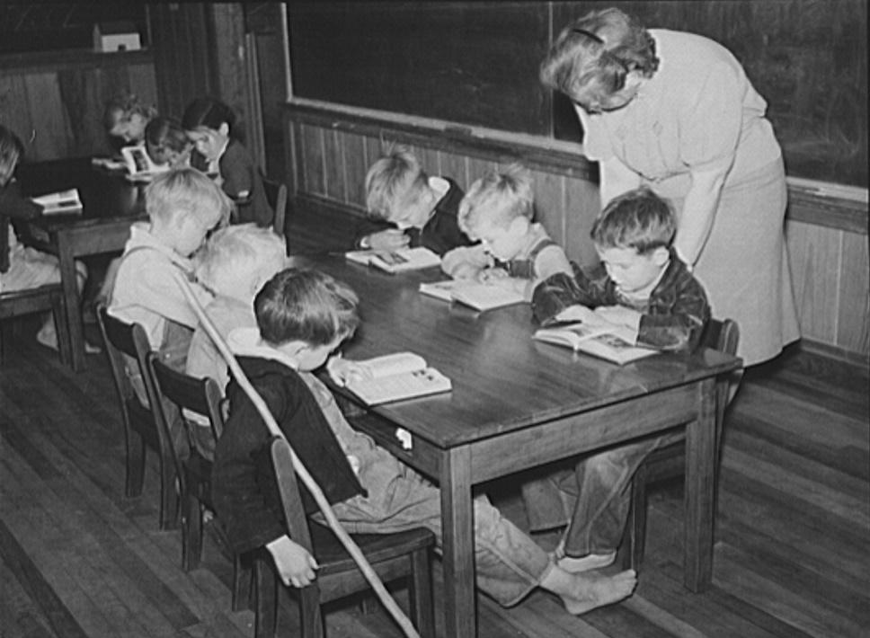First Grade children in Goodman School, Coffee county, Alabama