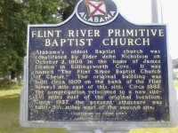 The first Baptist church in Alabama was on Flint River, northeast of city of Huntsville – Here are the details