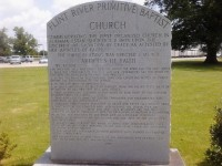 Baptist Church arrived in Alabama after the Revolutionary War