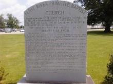 Baptist Church arrived in Alabama after the Revolutionary War