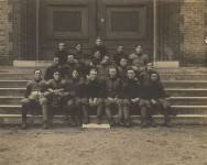 Early group pictures from the University of Alabama, football 1901, Law class, Glee club & Cavalier Club