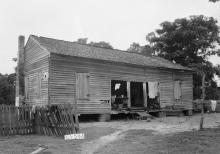 Undelivered letters near Huntsville, Alabama